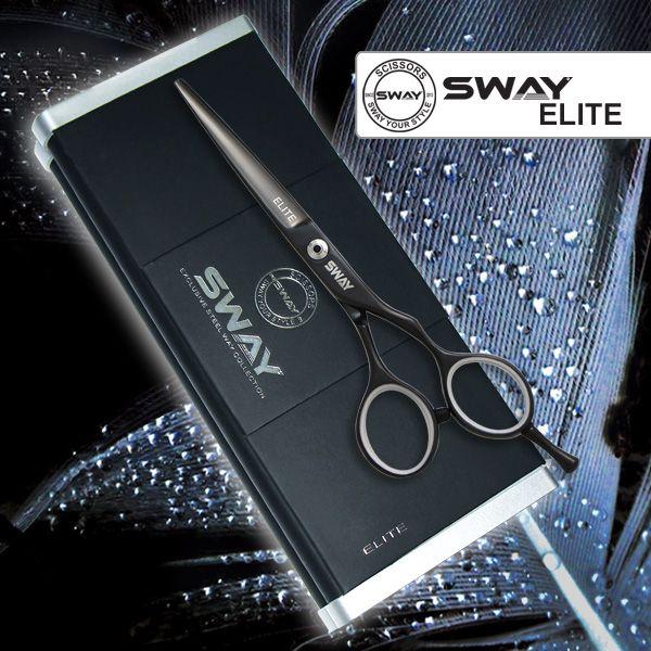 Парикмахерские ножницы SWAY Elite Night 110 20455 размер 5,5