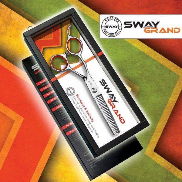 Филировочные ножницы для левши SWAY Grand 110 49155 размер 5,5