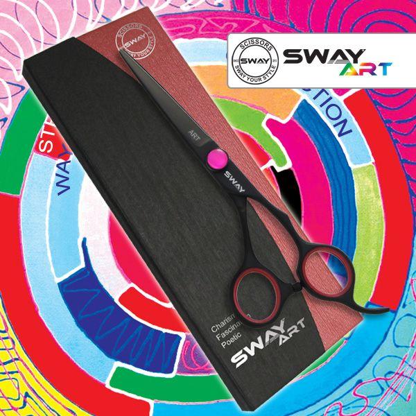 Парикмахерские ножницы SWAY Art Neon R 110 30550R размер 5
