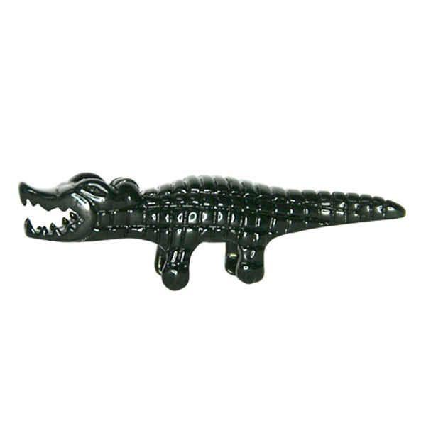 Украшение для ножниц на магните - Черный Крокодил