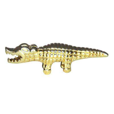 Украшение для ножниц на магните - Золотой Крокодил