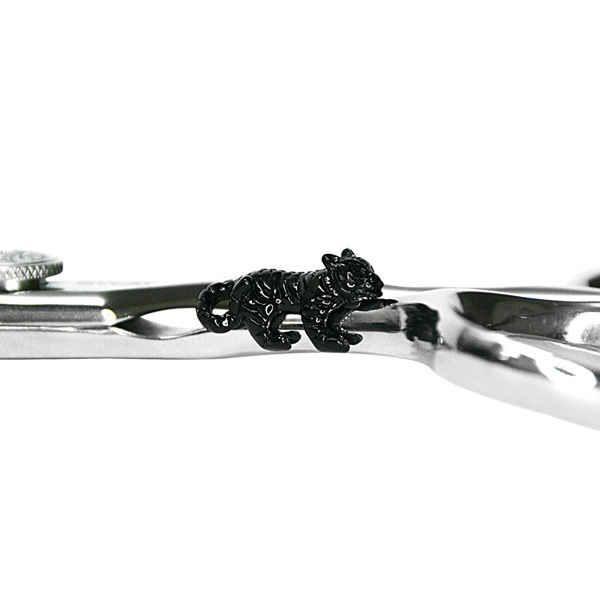 Украшение для ножниц на магните - Черный Ягуар