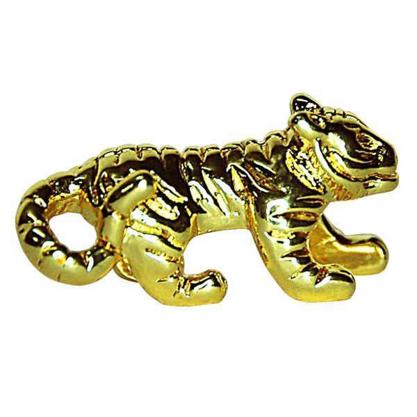 Украшение для ножниц на магните - Золотой Ягуар