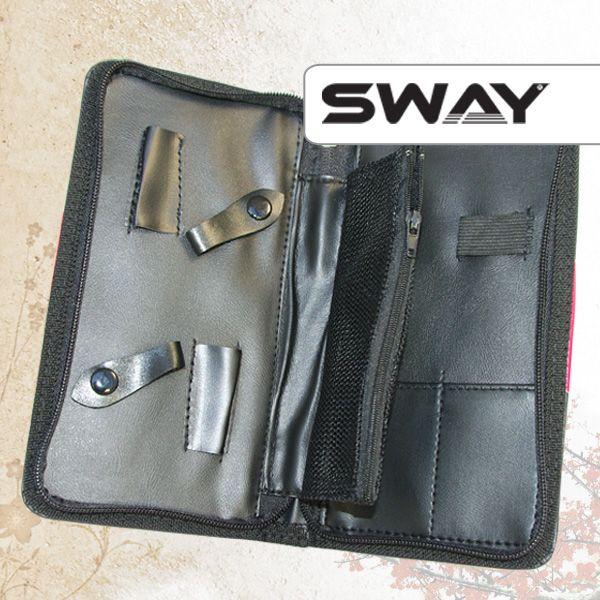 Чехол SWAY для 2 ножниц + аксессуаров с карманом