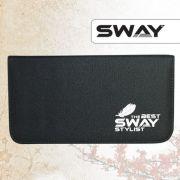 SWAY артикул: 110 999006 Чехол SWAY STYLIST для 2 ножниц + аксессуаров с карманом