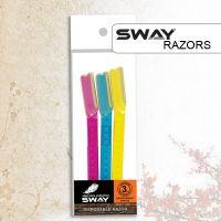 SWAY артикул: 119 905 3 шт. Комплект одноразовых бритв SWAY RAZOR 3in1