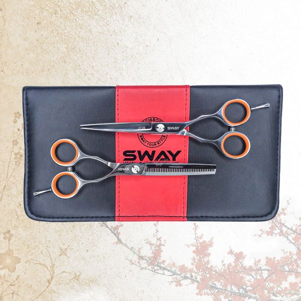Набор парикмахерских ножниц Sway Job 501 размер 5,5