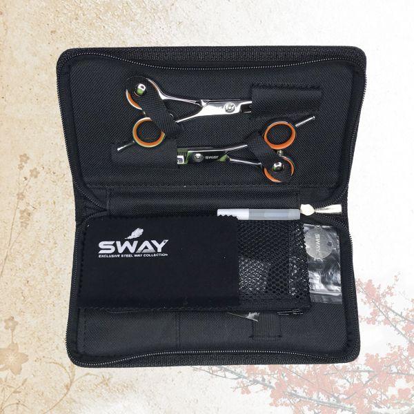 Набор парикмахерских ножниц Sway Grand 402 размер 6