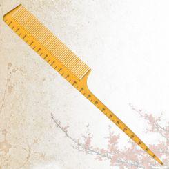 Парикмахерская расческа Sway Yellow ion+ 002 артикул 130 002 фото, цена sw_21773-02, фото 2