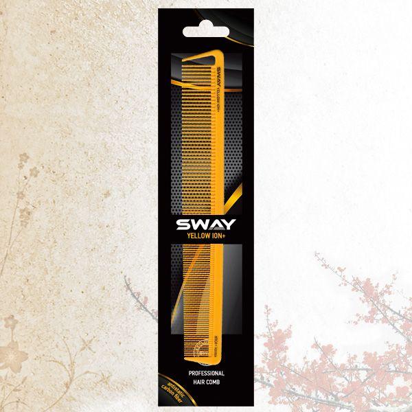 Комбинированная расческа Sway Yellow ion+ 004