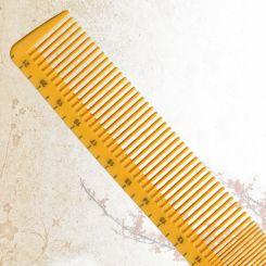 Парикмахерская расческа Sway Yellow ion+ 005 артикул 130 005 фото, цена sw_21776-03, фото 3