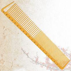 Парикмахерская расческа Sway Yellow ion+ 006 артикул 130 006 фото, цена sw_21777-02, фото 2