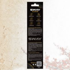Парикмахерская расческа Sway Yellow ion+ 006 артикул 130 006 фото, цена sw_21777-05, фото 5