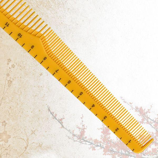 Скошенная расческа Sway Yellow ion+ 007
