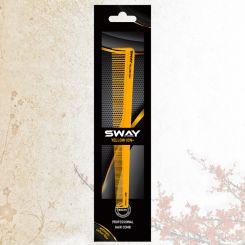 Парикмахерская расческа Sway Yellow ion+ 007 артикул 130 007 фото, цена sw_21778-05, фото 5
