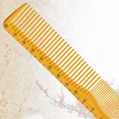 Парикмахерская расческа Sway Yellow ion+ 008 артикул 130 008 фото, цена sw_21779-03, фото 3