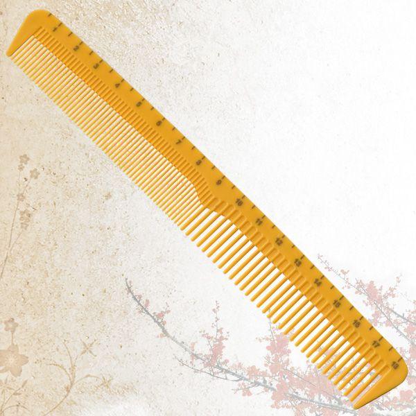 Малая комбинированная расческа Sway Yellow ion+ 009