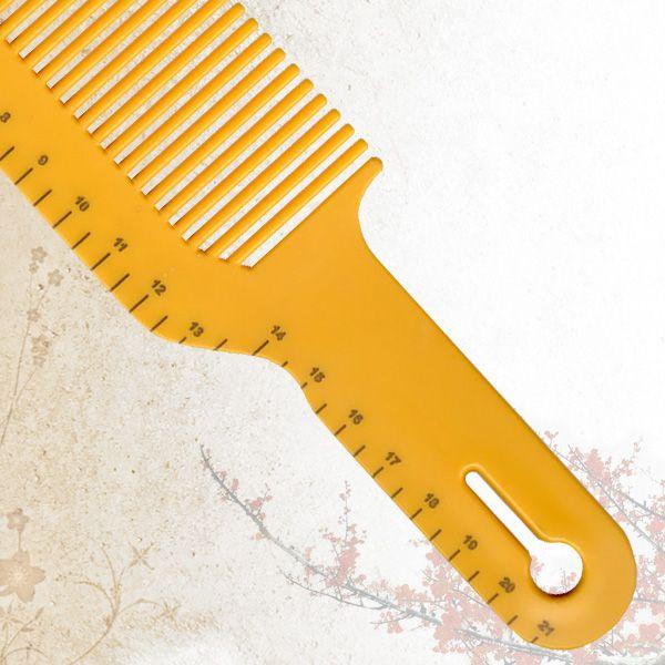 Расческа для стрижки под машинку Sway Yellow ion+ 010