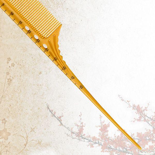 Удлиненная расческа с шпикулем Sway Yellow ion+ 012
