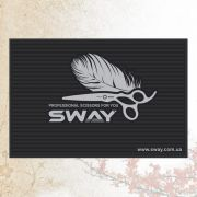 SWAY артикул: 116 1006 Парикмахерский резиновый коврик для инструментов Sway 45х30х0,5 см.