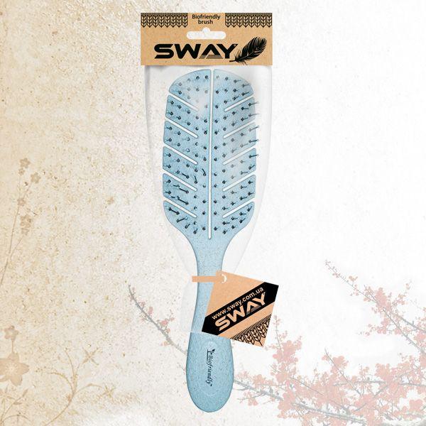 Щетка для укладки волос Sway Biofriendly Wheat Fiber Blue