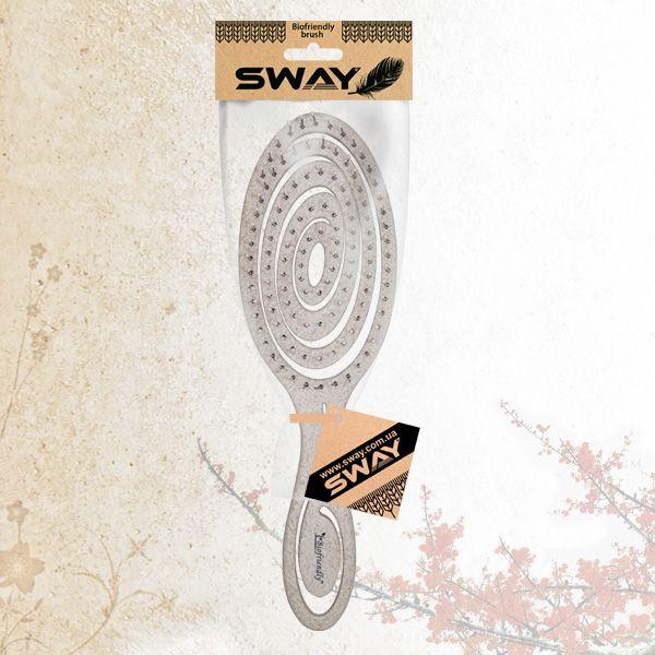 Щетка для укладки волос Sway Biofriendly Wheat Fiber Sand