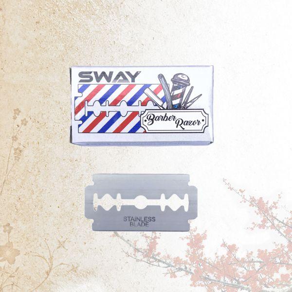 Лезвия для бритвы Sway Barber Razor 20 шт.