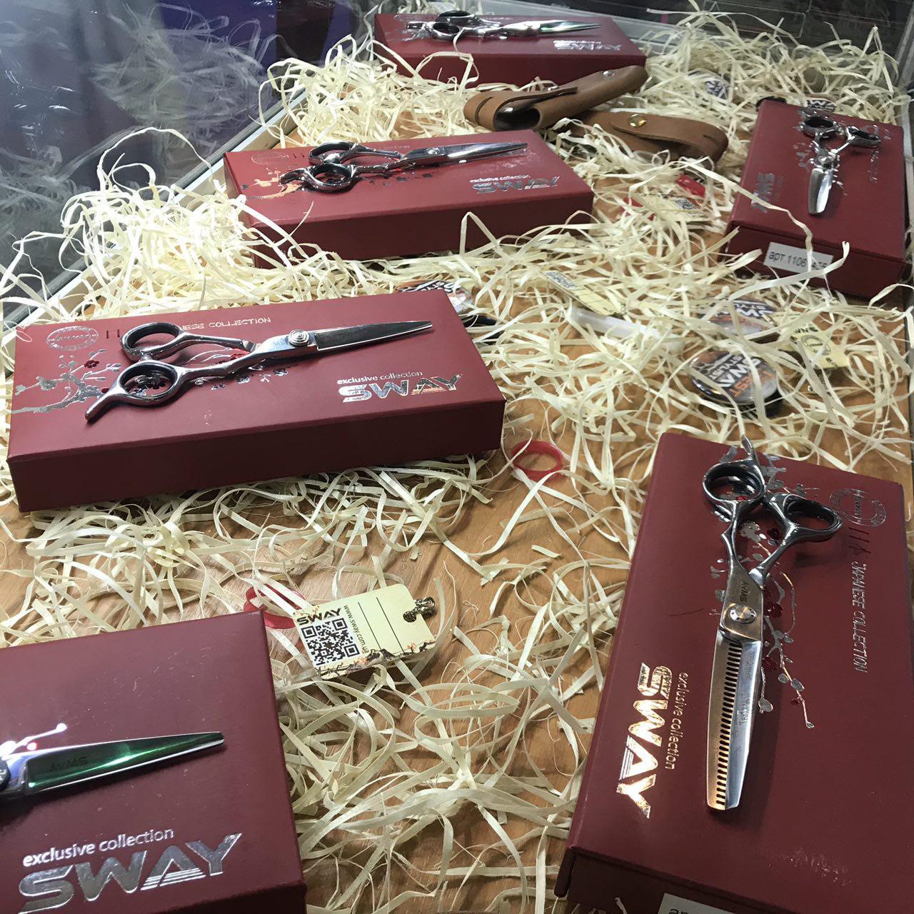 Новые ножницы из японской стали Sway Japanese