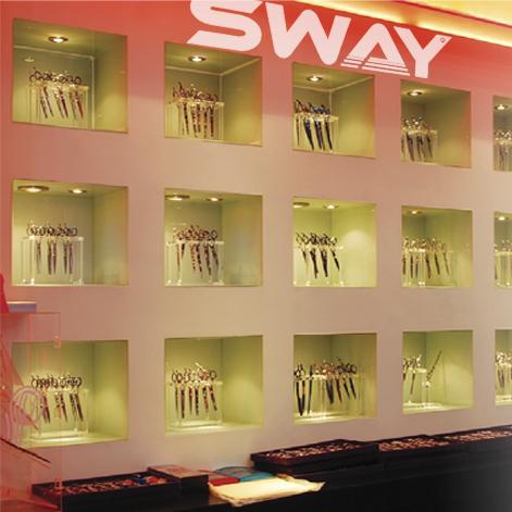 Стенд с ножницами Sway