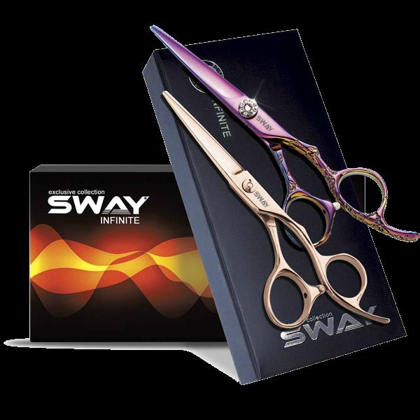 Профессиональные парикмахерские ножницы для стрижки волос Sway